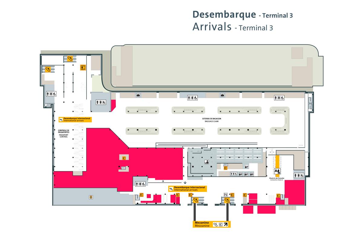 Terminal 3 ❸ Aeroporto de Guarulhos
