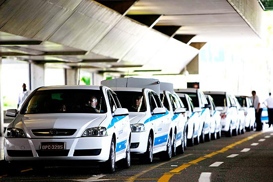 Transporte de Táxi Aeroporto de Guarulhos